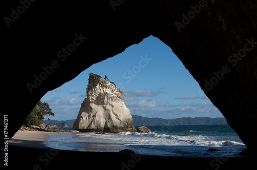 Foto op Aluminium Cathedral Cove Coromandel Cathedral cove New Zealand