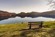bench at a lake 2