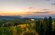 Grand Mesa Colorado Sunset Lan...
