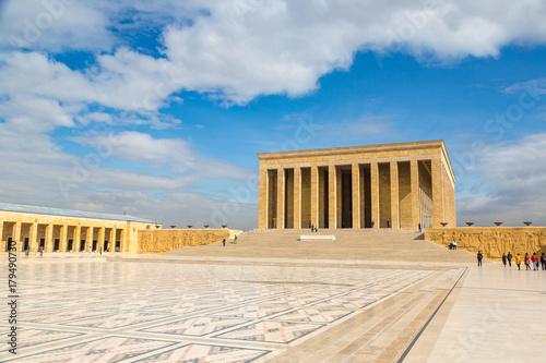 Carta da parati Anitkabir, mausoleum of Ataturk, Ankara