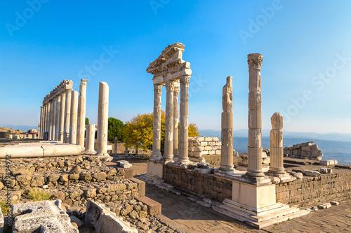 Poster Turquie Temple of Trajan in Pergamon, Turkey