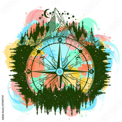 symbolism in compass and torch Symbolism is important in short stories as writers can say a lot in a short space using symbols, and there a 3 main symbols the torch, the compass, and the horse all of the symbols used are connotations.