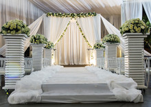 Jewish Hupa , Wedding Putdoor .