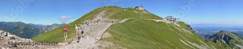 Kasprowy Wierch szczyt - panorama