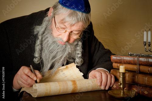 Fototapeta Jewish parchment obraz
