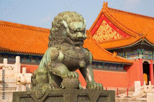 Foto op Aluminium Beijing The Forbidden City