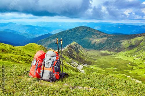 Zdjęcie XXL Podróżując po górach, na dziko.