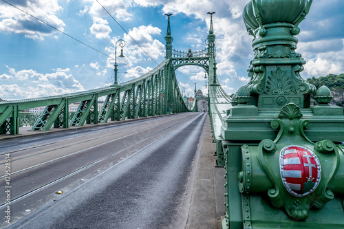 liberty-bridge-in-budapest-hungary-on-september-2017