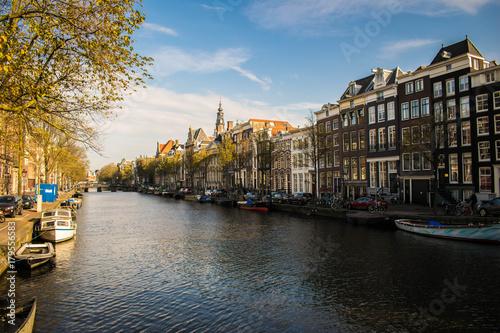 Photo  Amsterdam Canal