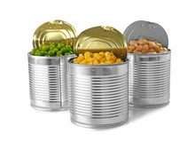 Open Tin Cans With Different F...