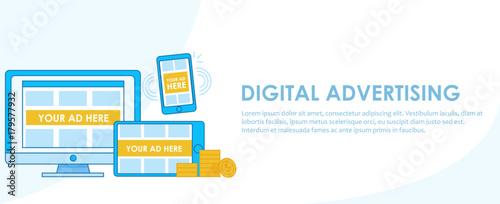 Fotografía  Digital Advertising seo banner