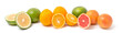 canvas print picture - Orangen, Grapefruits und Sweeties