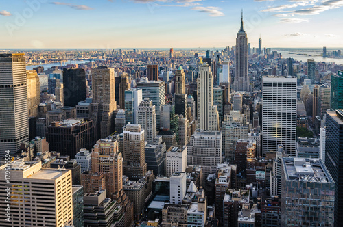 Fotografie, Obraz  Skyline from the Top of the Rock, NYC, USA