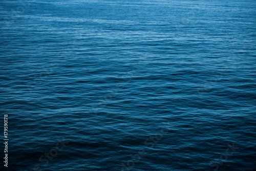 Deurstickers Zee / Oceaan Calm Sea Water Background
