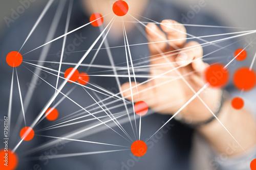 Fotodibond 3D sieć danych