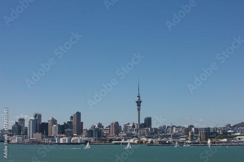 Foto op Aluminium Nieuw Zeeland Auckland skyline . Skytower