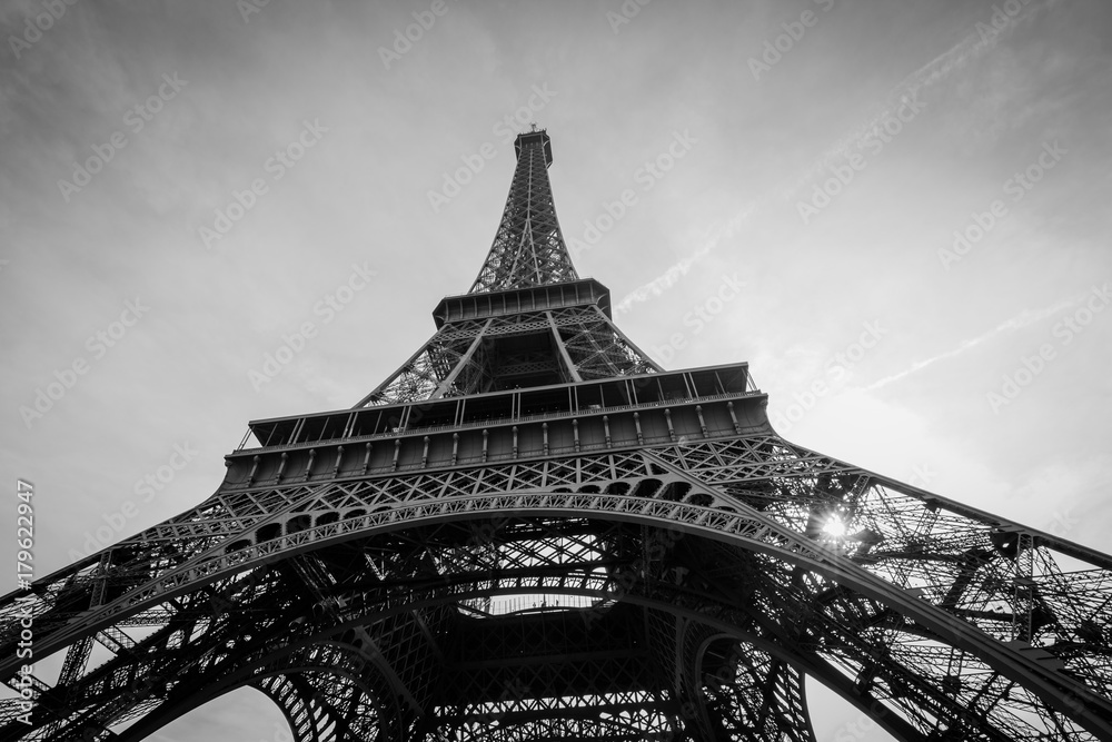 Fototapeta eiffel tower - obraz na płótnie