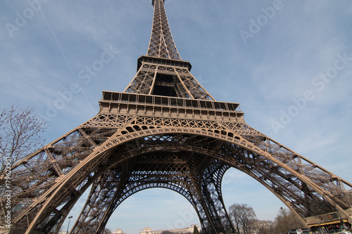 Fototapeta eiffel tower obraz na płótnie