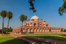 Humayun Tomb In Delhi, India