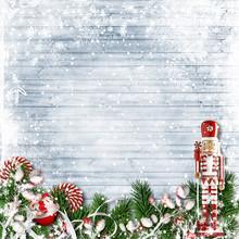 Christmas Decor With A Nutcrac...