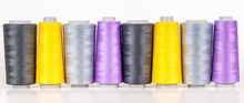Vary Colored Thread Coils