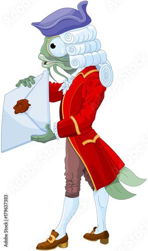 Poster Magie Fish Footman
