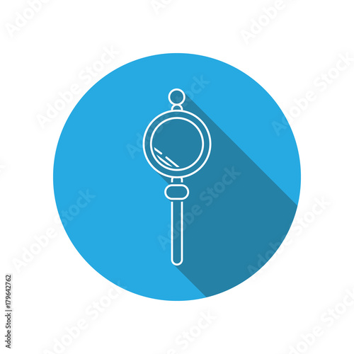Valokuva  Censer flat icon