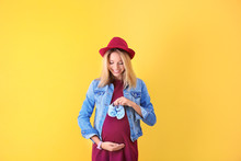 Beautiful Pregnant Woman With ...