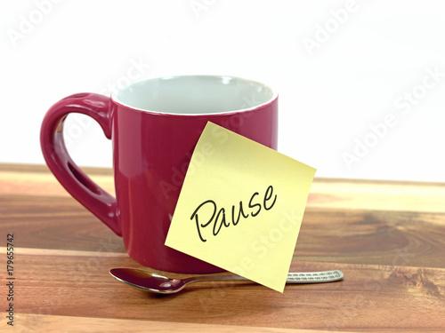 Fotografie, Obraz  Pause, Auszeit, Stressbewältigung