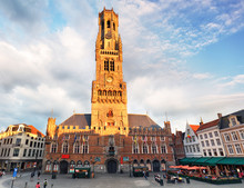 Belfry - Grote Markt Square In...