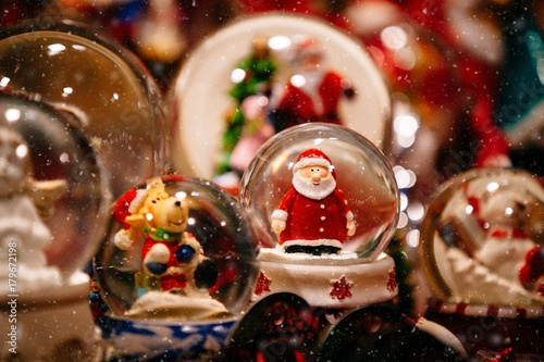 Foto op Plexiglas Kerstmis Christmas decorations on Trentino Alto Adige, Italy Christmas market