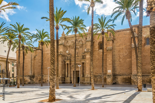 Photo View at the Cathedral of Almeria - Spain