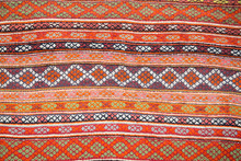 Classic South American Fabric For Background