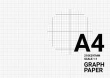 Vector Graph Paper Background With Plotting Millimeter Ruler Line Quide Grid Texture For Engineering Mechanical Drawing