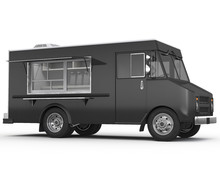 3d Rendering Of A Food Truck O...
