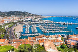 Cannes city view, south of France - 179704109