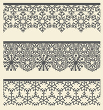 Floral Arabic Lacy Seamless Bo...