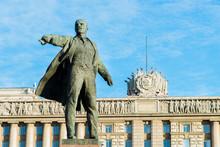 The Statue Of Lenin.