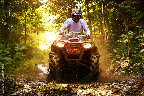 Photo sur Toile Motorise ATV