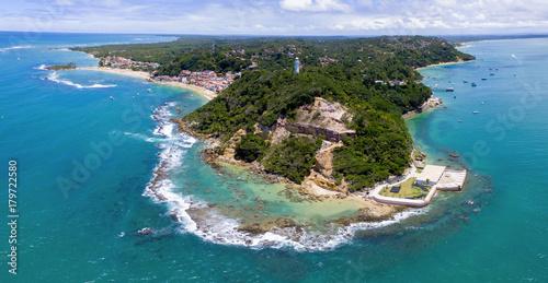 Zdjęcie XXL Powietrzny wizerunek Morro de São Paulo, Tinharà © wyspa, Bahia, Brazylia
