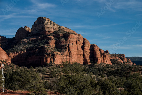Spoed Foto op Canvas Cappuccino Sedona Red Rocks