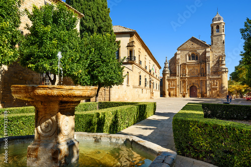 Foto cathedral of Ubeda,Andalusia,Spain