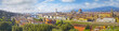Florence aerial view cityscape. Panorama view from Michelangelo park square ,Italy