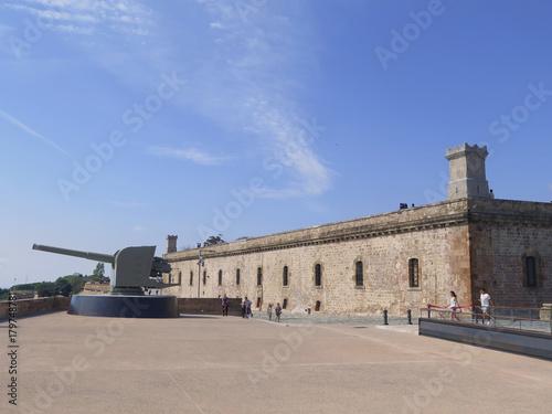 Obraz na dibondzie (fotoboard) zamek Montjuic