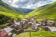 Svaneti Mountain Towers In Geo...