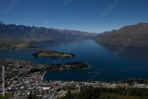 Aluminium Prints New Zealand City of Queenstown New Zealand