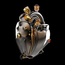 Diesel Punk Robot Techno Heart...