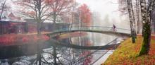 Bike Ride Between Autumn And Winter