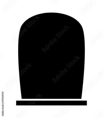 Foto gravestone halloween icon isolated on white background