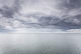 Idyllic shot of horizontal sea water and sky - 179767725